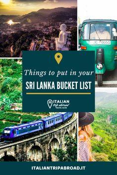 Sri Lanka Bucket List | 25+ unique experiences in Sri Lanka 3