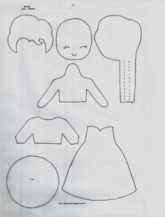 Ideias em 3D: FROZEN & FELTRO - ELSA, ANNA E OLAF