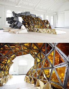 Algorithmic Architecture: 14 Complex Math-Based Structures