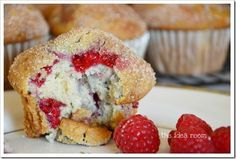Raspberry White chocolate chip ~ Need to find a healthy alternative, but didn't want to lose this recipe !!