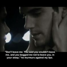 """""""I don't want you to go,"""" he murmurs, his voice full of longing. -----Fifty shade of grey -----xtina72"""