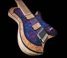 "Markline Guitars and Drums on Instagram: ""Venus 7 - 101/2021 #marklineguitars #roastedmaple #roastedflamemaple #customguitars #guitarbuilding #guitarmaker #guitarporn #7strings…"""