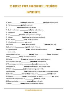 El Imperfecto Worksheet Answers 97 Best Preterito Vs Imperfecto Images In 2020 Free Spanish Lessons, Spanish Practice, Spanish Lesson Plans, Spanish Grammar, Spanish Language Learning, Spanish Teacher, Spanish Classroom Activities, Spanish Teaching Resources, Spanish Exercises