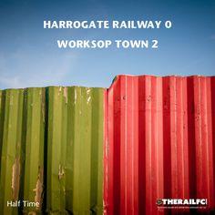 HT: Harrogate Railway 0-2 Worksop Town    @therailfc @worksoptownfc @Howell_rm @edwhite2507