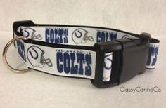 My (Bella) needs this Indianapolis Colts Dog Collar