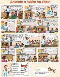 Hablar en clase