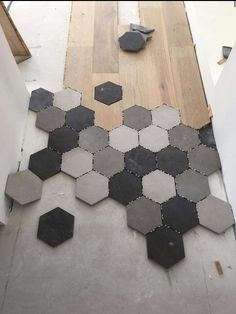 carrelage hexagonal tendance id es de couleurs et designs carrelage hexagonal combin et. Black Bedroom Furniture Sets. Home Design Ideas