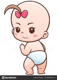 Resultado de imagen de dibujo cara bebe
