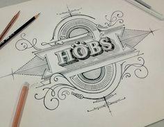 HOBS Thailand TVC, drawing by Ekaluck Peanpanawate, via Behance