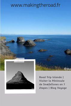 Que visiter dans la Péninsule de Snaefellsnes ? Voici mon road trip en 7 étapes sur une journée pour découvrir l'Ouest de l'Islande. #islande #roadtrip #snaefellsnes #voyage Les Fjords, Destinations, Les Cascades, Voyage Europe, Destination Voyage, Parc National, Blog Voyage, Voici, Volcanoes