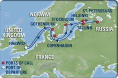 12 Night Scandinavia and Russia Cruise. this would be the next DREAM vacation!