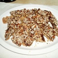 I love toffee!   Microwave Toffee Recipe - 7 minutes 'til heaven, no stirring or  candy thermometer required, for real!!
