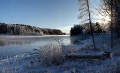 River Kymi in Kuusankoski,Kouvola