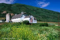 Park City, Utah...I wanted to get a picture of this barn with the flag this Summer while there but never did...glad someone else did!