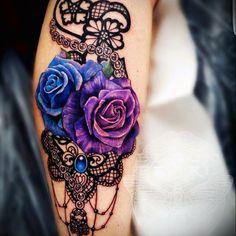 Tattoo uploaded by Sarah-Isabel - Flower tattoos - tattoos Girly Tattoos, Pretty Tattoos, Sexy Tattoos, Beautiful Tattoos, Skull Tattoos, Tatoos, Feminine Tattoos, Makeup Tattoos, Rundes Tattoo