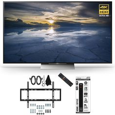 Sony XBR-55X930D 55-Inch Class 4K HDR Ultra HD TV Slim Flat Wall Mount Bundle includes Slim Flat Wall Mount Ultimate Kit and Power Strip with Dual USB Ports Price
