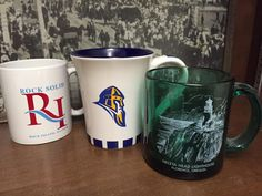 "And a few more ""traditional"" extras I keep around for guests. Trying to keep up with @kwyatt23! @ELGL50 #ELGLMugs"
