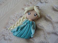 Clay Disney Frozen Queen Elsa by CraftyOliviaCuties on Etsy, $13.00