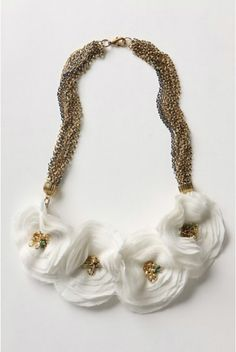 27 Inspirational DIY Ideas, DIY Floral Necklace