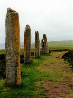 Standing stones, Orkney Island