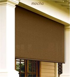 Love these roll up exterior window shades | For the Home ...