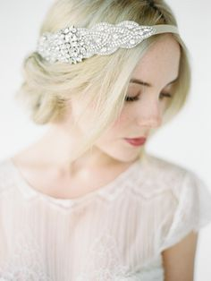 ARABELLA silver crystal headband_01