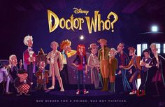 'Doctor Who' gets Disney treatment in epic fan poster: Pic