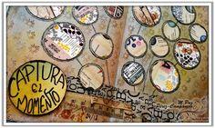 Manos y Mente Art Journaling. Captura el momento. Cuenta atrás #ArtJournal, día 4 de 10.