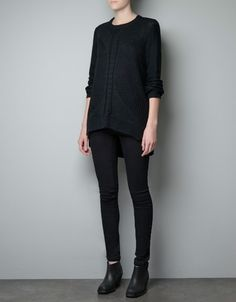 KNITTED SWEATER - Woman - New this week - ZARA United States