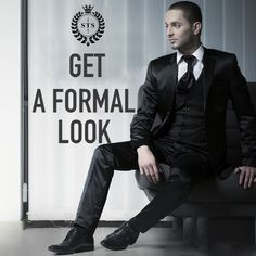 Get a Formal Look! #sanjaytextilestore #stsjaipur #menswear #suits #sherwani #kurta #designersuits #tuxedosuits #blazer #wedding #dresses #groom #tailoring #stylish #ethnicwear #tshirts #jeans #jackets #weddingdress #weddingday #love #fashion #weddings #dress #weddingideas #style #formal Formal Looks, Sherwani, Black Suits, Tuxedo, Mens Suits, Weddingideas, Groom, Menswear, Socks