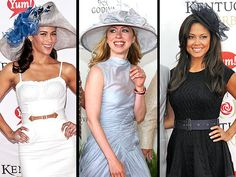 Image detail for -Whether you'll be cheering on the horses from the fanciest box at the races or sipping mint juleps at home, the Kentucky Derby gives you a great excuse ...
