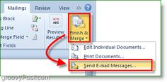 Send Personalized Mass Emails Using Outlook 2010 [How-To]