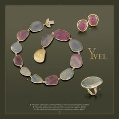 Gorgeous jewels from Yvel
