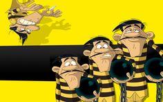 Risultati immagini per lucky luke dalton Lucky Luke, Graffiti I, Yellow Sun, Animation Film, Mug Shots, My Life, Anime, Family Guy, Cartoon
