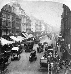 Oxford Street c1880, London