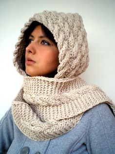 Hand Made Hood Scarf, etsy, $85
