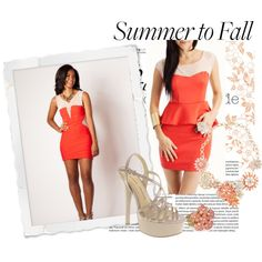 """Fashion Friday - Summer to Fall with Miss Teen USA 2012, Logan West"" by missuniverseorg on Polyvore"