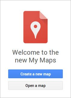 Google welcomes back and upgrades My Maps