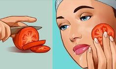 Problematic skin issues such as eczema, acne and age spots are a cause for concern for many people. Cellulite, Tomato Face, Tomato For Acne, Lotion Tonique, Back Acne Treatment, Spot Treatment, Smooth Face, Remove Acne, Facial Masks