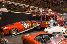 Ferrari P4 sur camion Fiat Bartoletti - Le Mans 1967 - Rétromobile 2014