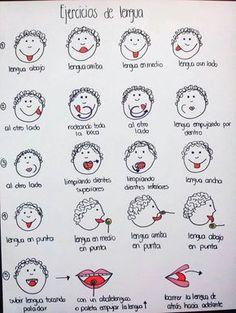 Ejercicios para la lengua