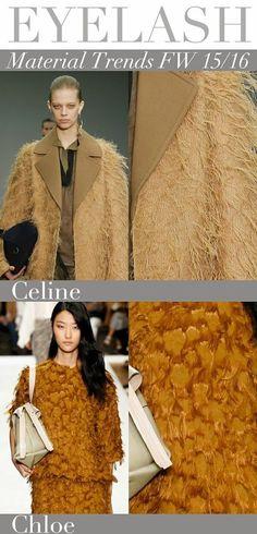 Der Herbst Farbtyp wählt die unterschiedlichsten Materialien für seine Outfits.
