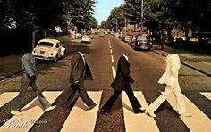 Abbey Road Cover, headless style.