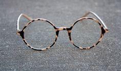 Round Eye Glasses by StrawberryUniversity on Etsy, $15.00