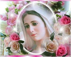 Our blessed Lady. Pray and spread endless love all around the world. Mary Jesus Mother, Mother Of Christ, Mary And Jesus, Blessed Mother, Bad Painting, Images Of Mary, Queen Of Heaven, Holy Mary, Jesus Pictures