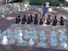 Giant Chess Sets and Garden Chess Sets for outdoors - Must get