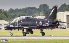 https://flic.kr/p/USUrr1 | XX316/CU-849 | 11th July 2016 - Hawker Siddeley Hawk T.1 'XX316/CU-849' of the Royal Navys  736 Naval Air Squadron (736NAS) at RNAS Culdrose, see here departing the Royal International Air Tattoo