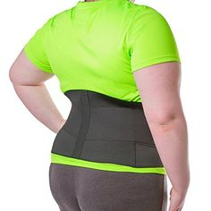Discounted BraceAbility XXXXL Plus Size Elastic & Neoprene Compression Back Brace Severe Lower Back Pain, Upper Back Pain, Low Back Pain Relief, Spondylolisthesis, Knee Wraps, Degenerative Disc Disease, Sciatica Pain, Nerve Pain, Sore Muscles