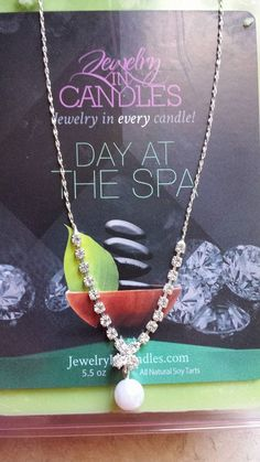 Jewelry in Candles 21oz Day at The Spa Reveal  https://www.jewelryincandles.com/store/alexis_loperena