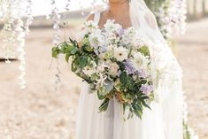From the blush and lilac palette to the long, banquet-style dinner tables, everything about this romantic vinery wedding in San Diego, California is perfection! Pastel Flowers, Vineyard Wedding, Banquet, Lilac, Wedding Inspiration, California, Romantic, Bride, Wedding Dresses